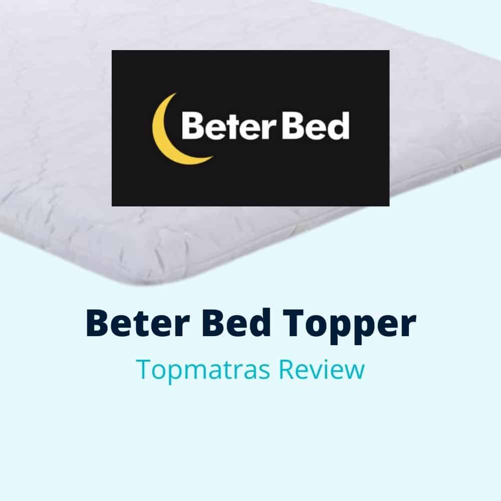 beter bed topper review